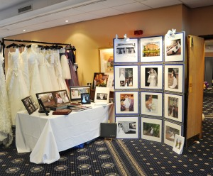 MB Photography - Wedding Fayre Stand